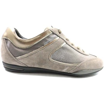 Buty Damskie Trampki niskie Tod's sneakers beige camoscio bronze az570 Beige