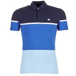 tekstylia Męskie Koszulki polo z krótkim rękawem Armani jeans MARAFOTA Niebieski