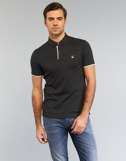 tekstylia Męskie Koszulki polo z krótkim rękawem Armani jeans MEDIFOLA Czarny