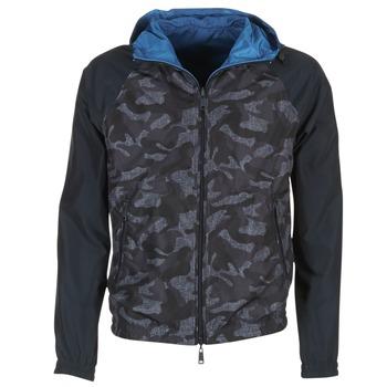 tekstylia Męskie Kurtki krótkie Armani jeans MIRACOLA Szary