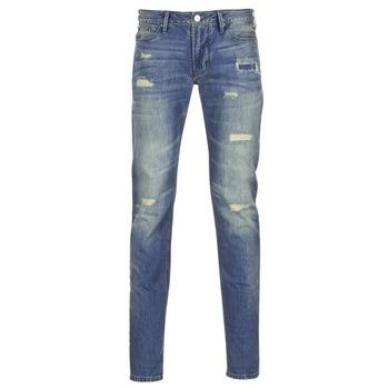 tekstylia Męskie Jeansy slim fit Armani jeans NAKAJOL Niebieski