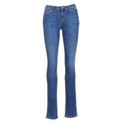tekstylia Damskie Jeansy straight leg Armani jeans HOUKITI Niebieski