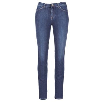 tekstylia Damskie Jeansy slim fit Armani jeans GAMIGO Niebieski