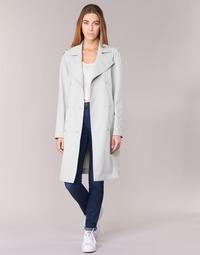 tekstylia Damskie Prochowce Armani jeans HAVANOMA Biały