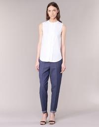 tekstylia Damskie Spodnie z pięcioma kieszeniami Armani jeans JAFLORE Niebieski
