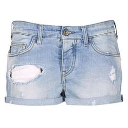 tekstylia Damskie Szorty i Bermudy Armani jeans JUTELAPO Niebieski