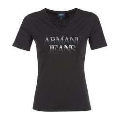 tekstylia Damskie T-shirty z krótkim rękawem Armani jeans JAGONA Czarny