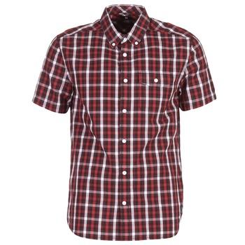 tekstylia Męskie Koszule z krótkim rękawem DC Shoes ATURA 5 SS Czerwony