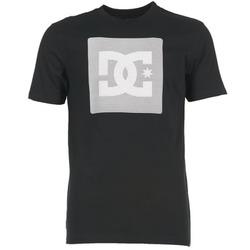 tekstylia Męskie T-shirty z krótkim rękawem DC Shoes VARIATION SS Czarny / Szary / Biały