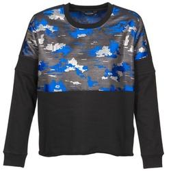 tekstylia Damskie Bluzy Eleven Paris FORTEX Czarny / Niebieski