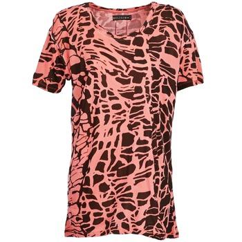 tekstylia Damskie T-shirty z krótkim rękawem Religion HAWK Czerwony / Czarny