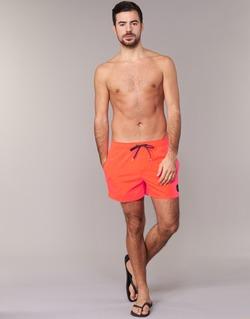 tekstylia Męskie Kostiumy / Szorty kąpielowe Quiksilver EVERYDAY SOLID VOLLEY 15 Czerwony