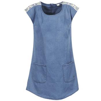 tekstylia Damskie Sukienki krótkie Roxy AFTERSURFING Niebieski