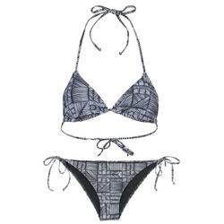 tekstylia Damskie kostium kąpielowy dwuczęściowy Roxy DOLTY Czarny / Biały
