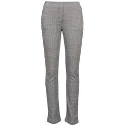 tekstylia Damskie Spodnie z lejącej tkaniny / Alladynki Majestic 2908 Szary