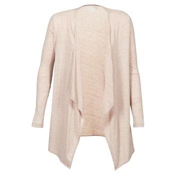 tekstylia Damskie Swetry rozpinane / Kardigany Majestic 518 Beżowy