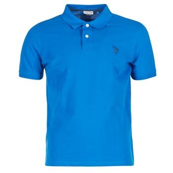 tekstylia Męskie Koszulki polo z krótkim rękawem U.S Polo Assn. INSTITUTIONAL Niebieski