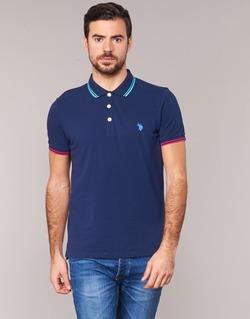 tekstylia Męskie Koszulki polo z krótkim rękawem U.S Polo Assn. BARNEY MARINE