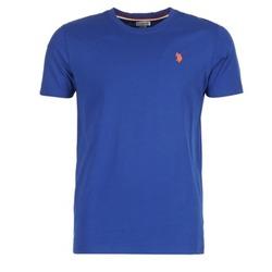 tekstylia Męskie T-shirty z krótkim rękawem U.S Polo Assn. DBL HORSE Niebieski