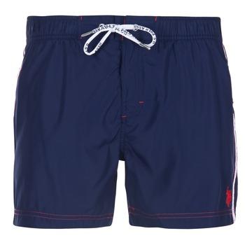 tekstylia Męskie Kostiumy / Szorty kąpielowe U.S Polo Assn. AXEL SWIM TRUNK MED Marine
