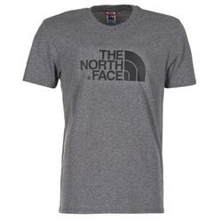 tekstylia Męskie T-shirty z krótkim rękawem The North Face EASY TEE Szary