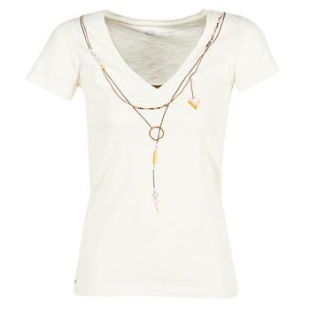 tekstylia Damskie T-shirty z krótkim rękawem Oxbow TWIN Biały