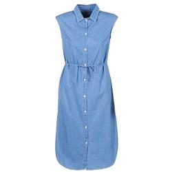 tekstylia Damskie Sukienki długie Loreak Mendian BAT ARKANSAS Niebieski