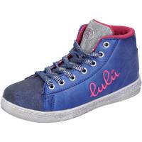 Buty Dziewczynka Trampki wysokie Lulu AH227 Niebieski