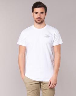 tekstylia Męskie T-shirty z krótkim rękawem Hackett VEZINO Biały