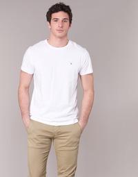 tekstylia Męskie T-shirty z krótkim rękawem Gant THE ORIGINAL T-SHIRT Biały