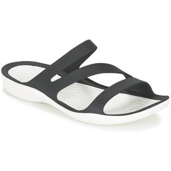 Buty Damskie Sandały Crocs SWIFTWATER SANDAL W Czarny / Biały