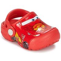 Buty Chłopiec Chodaki Crocs Crocs Funlab Light CARS 3 Movie Clog Czerwony
