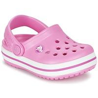 Buty Dziewczynka Chodaki Crocs Crocband Clog Kids Różowy