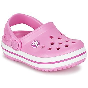 Buty Dziecko Chodaki Crocs Crocband Clog Kids Różowy
