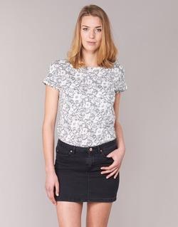 tekstylia Damskie T-shirty z krótkim rękawem Marc O'Polo BRIDELOPAC Szary / Biały