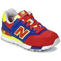 Buty Dziecko Trampki niskie New Balance KL574 Niebieski / Czerwony / żółty