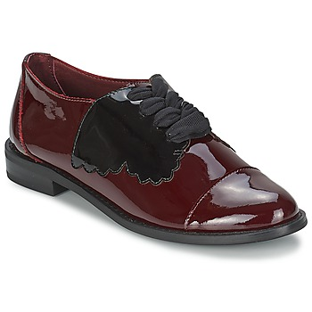 Buty Damskie Derby F-Troupe Butterfly Shoe Burgundy