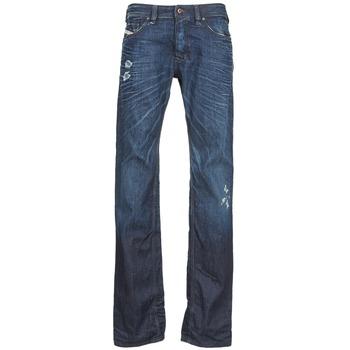 tekstylia Męskie Jeansy straight leg Diesel SAFADO Niebieski