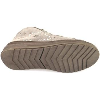 Buty Dziewczynka Trampki wysokie Didiblu sneakers beige camoscio AH126 Beige