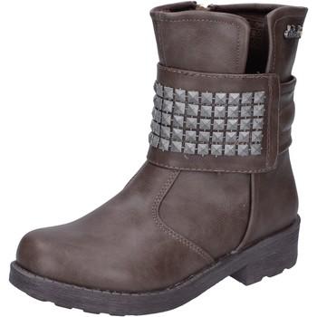 Buty Dziewczynka Botki Didiblu AH134 Beżowy