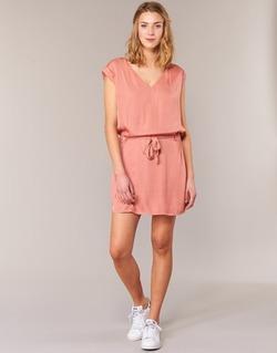 tekstylia Damskie Sukienki krótkie Kaporal FLY Różowy