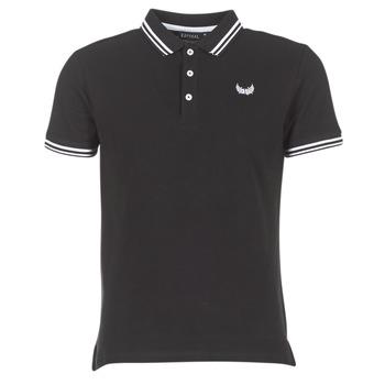 tekstylia Męskie Koszulki polo z krótkim rękawem Kaporal BASOC Czarny