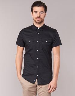 tekstylia Męskie Koszule z krótkim rękawem Kaporal RAC Czarny