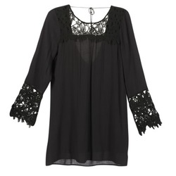 tekstylia Damskie Sukienki krótkie Billabong OPEN HORIZON DRESS Czarny