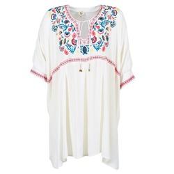 tekstylia Damskie Sukienki krótkie Billabong MYSTIC DRESS ECRU