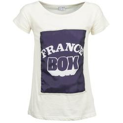 tekstylia Damskie T-shirty z krótkim rękawem Kling WARHOL Biały