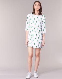 tekstylia Damskie Sukienki krótkie Compania Fantastica ECACTUSSA Biały