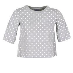 tekstylia Damskie T-shirty z krótkim rękawem Compania Fantastica EPOITATI Szary / Biały