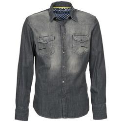 tekstylia Męskie Koszule z długim rękawem Meltin'pot CAREY Szary