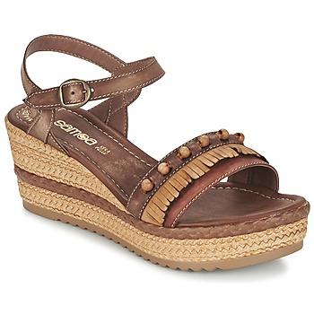 Buty Damskie Sandały Samoa MOLAY Brązowy